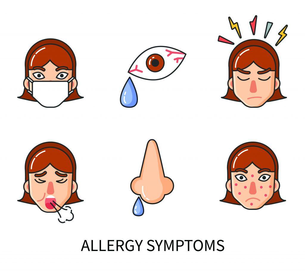 alergie-symptomy